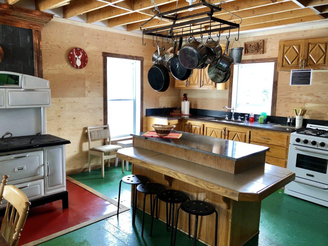 Ryder – Intérieur, cuisine et comptoir